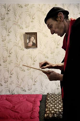 marie bienaime artiste photographe, clown, force fragile, travail sensible, clown et photographie, photographe lyon