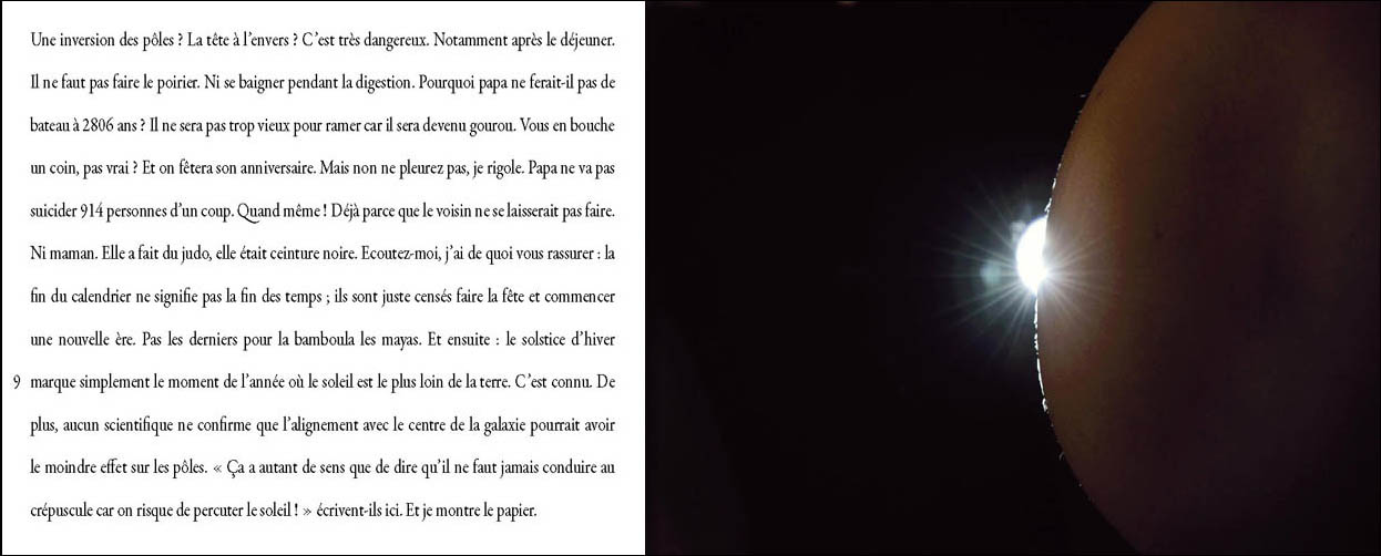 marie bienaime photographe lyon, jean christophe pages, recit photographique, la fin du monde, ecriture et photographie, collaboration
