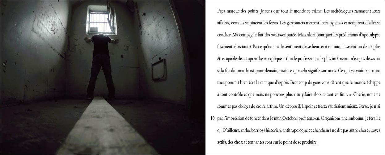 marie bienaime photographe lyon, jean christophe pages, recit photographique, la fin du monde, ecriture et photographie, collaboration