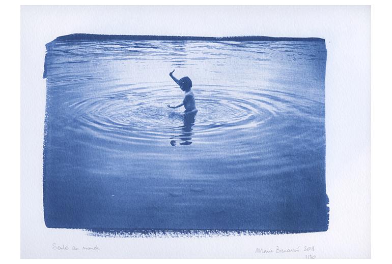 publication intime, marie bienaime, photopgraphe lyon, tirages cyanotypes, procedes anciens, procédés alternatifs, cyanotypie, cyanotypes, photographe professionnel, photographe lyon,