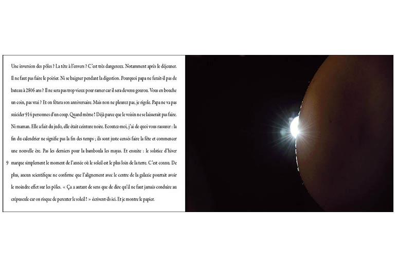marie bienaime, photographe, artiste, photographe lyon, ecriture photographique, texte et photo, edition photographique, la fin du monde